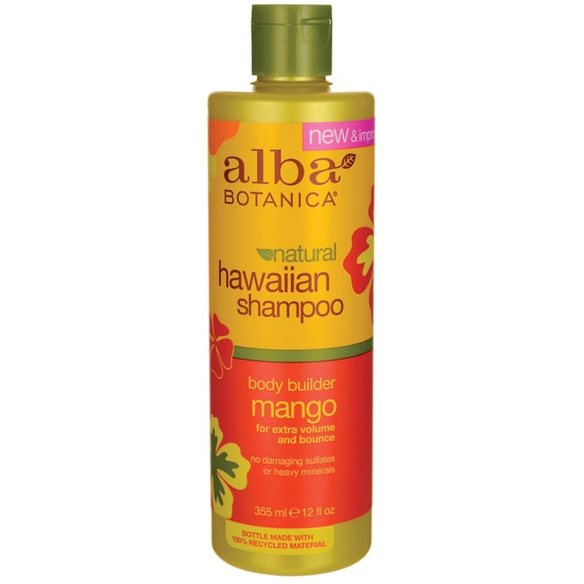 Alba BotanicaNatural Hawaiian Shampoo - Body Builder Mango