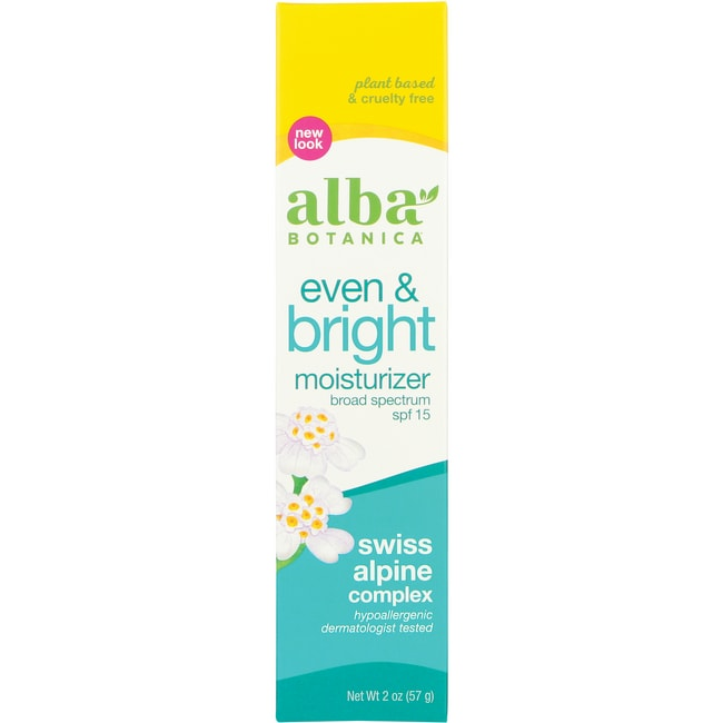 Alba BotanicaNatural Even Advanced Moisturizer SPF 15 - Sea Moss