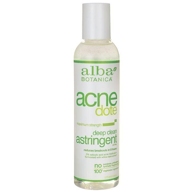 Alba Botanica Acne Dote Deep Clean Astringent - Maximum Strength
