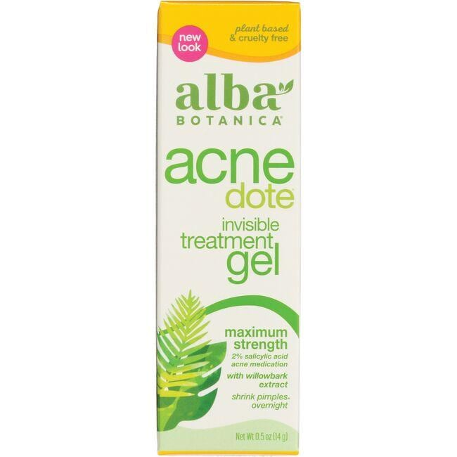 Alba Botanica Natural Acne Dote Invisible Treatment Gel - Maximum Strength