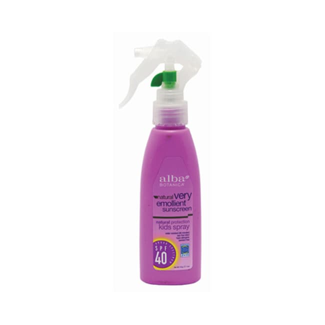 Alba BotanicaKids Very Emollient Sunscreen Spray - SPF 40