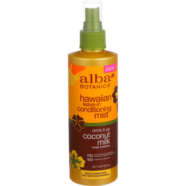 Alba BotanicaHawaiian Leave-In Conditioning Mist - Drink It Up Coconut Milk