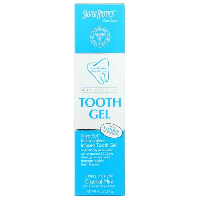 American Biotech Labs SilverSol Nano-Silver Infused Tooth Gel - Glacial Mint