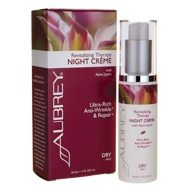 Aubrey Revitalizing Therapy Night Creme w/ Alpha Lipoic Acid
