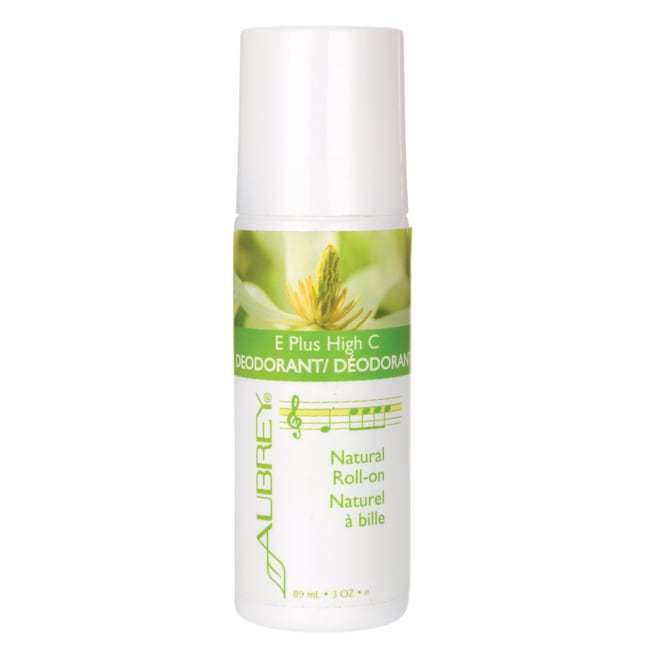 AubreyE Plus High C Natural Roll-On Deodorant