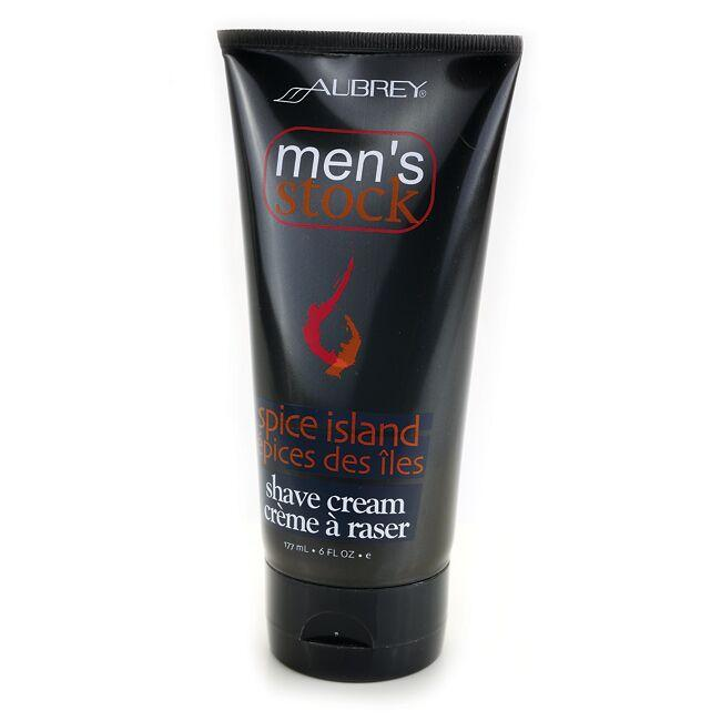 Aubrey Men's Stock Shave Cream Spice Island