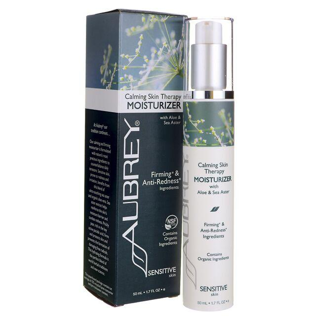Aubrey Calming Skin Therapy Moisturizer with Aloe & Sea Aster