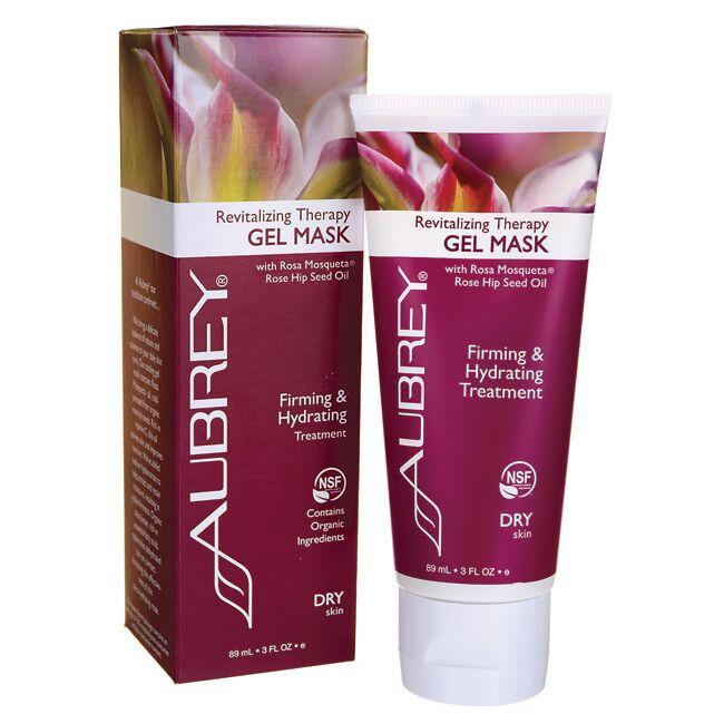 Aubrey Revitalizing Therapy Gel Mask with Rose Hip Seed Oil