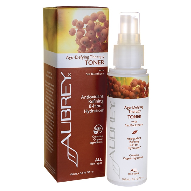 Aubrey Age-Defying Therapy Toner with Sea Buckthorn