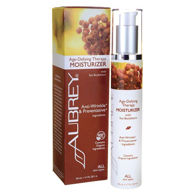 Aubrey Age-Defying Therapy Moisturizer with Sea Buckthorn