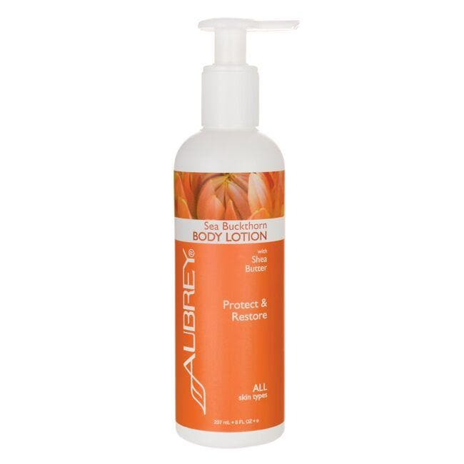 Aubrey Sea Buckthorn Body Lotion with Shea Butter