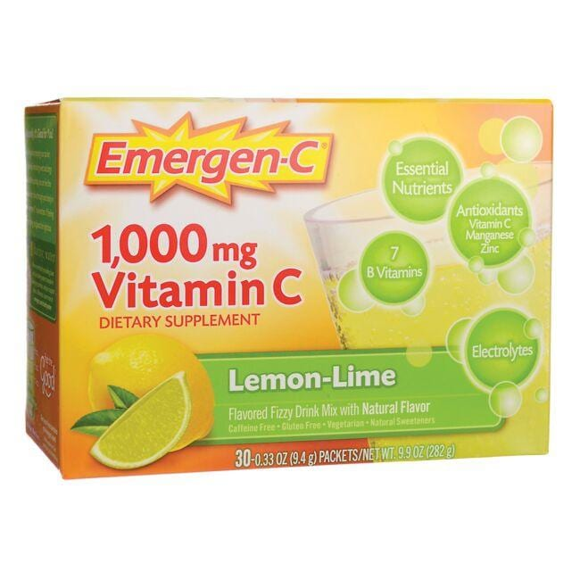 Alacer Emergen-C Emergen-C Vitamin C - Lemon-Lime