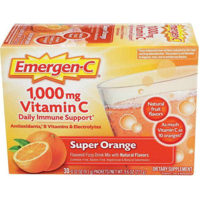 Alacer Emergen-C Emergen-C Vitamin C - Super Orange