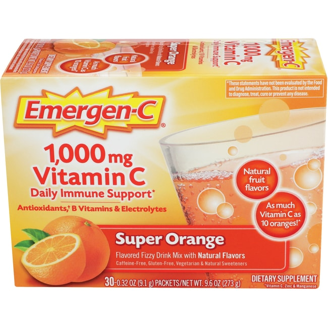 Emergen-C Vitamin C - Super Orange