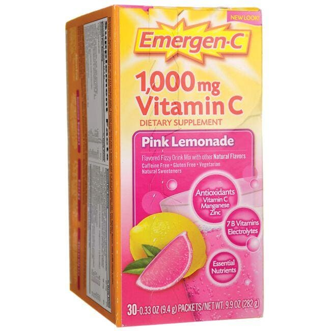 Alacer Emergen-CEmergen-C Pink Lemonade