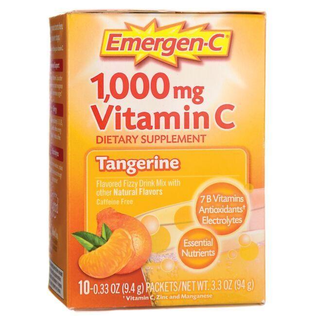 Alacer Emergen-CEmergen-C Tangerine