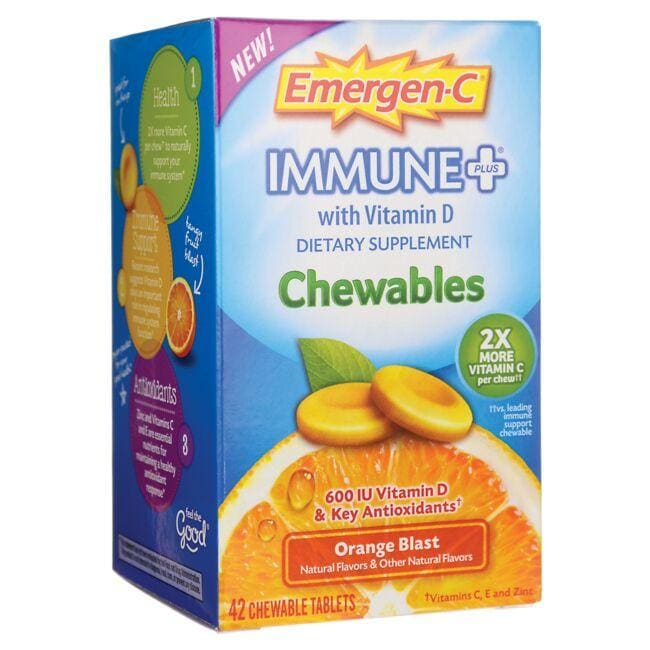Alacer Emergen-C Emergen-C Immune Plus Orange Blast