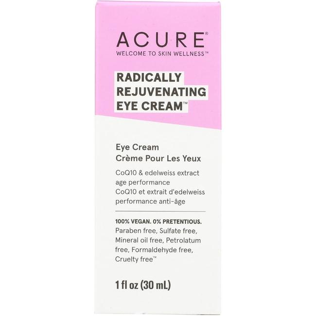 Acure Organics Eye Cream Chlorella + Edelweiss Stem Cell 1