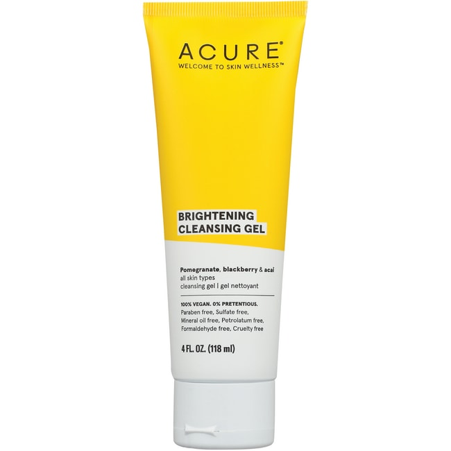 Acure Organics Facial Cleansing Gel Superfruit + Chlorella Growth Factor