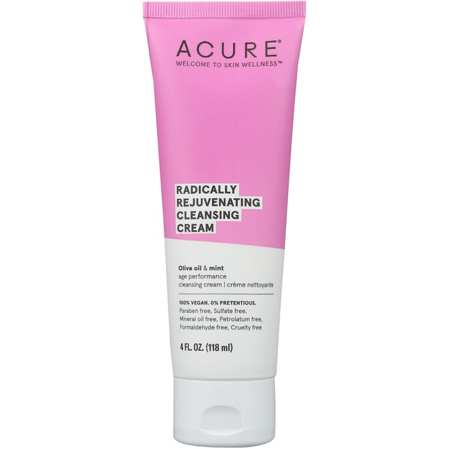 Acure Organics Facial Cleansing Creme Argan Oil + Mint 4
