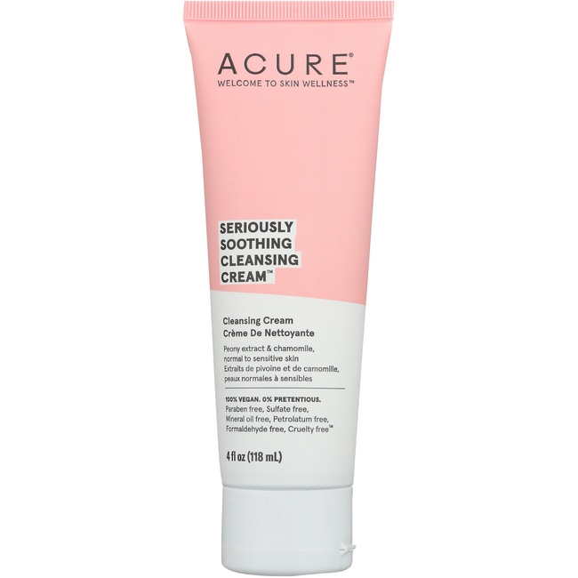 Acure Organics Sensitive Facial Cleanser 4 Fl Oz (118 ML