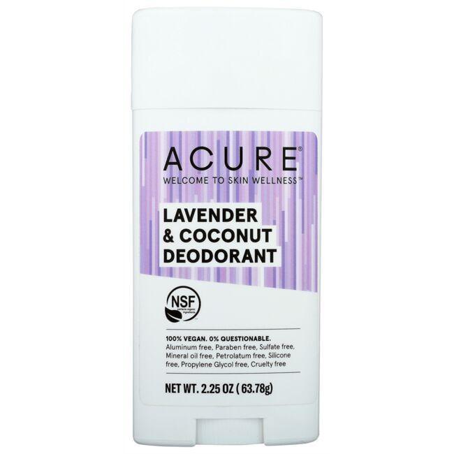 AcureDeodorant - Lavender & Coconut