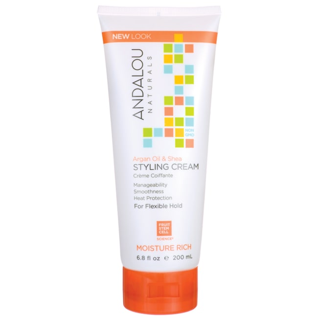 Andalou NaturalsSmooth Hold Styling Cream - Argan & Sweet Orange