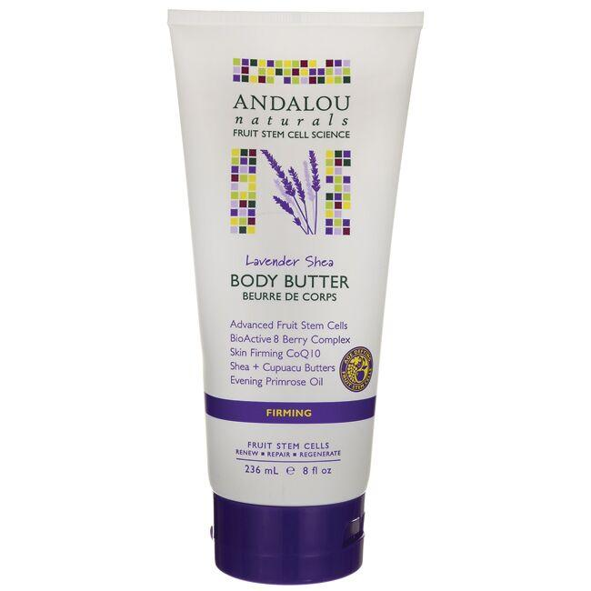 Andalou Naturals Firming Body Butter - Lavender Shea