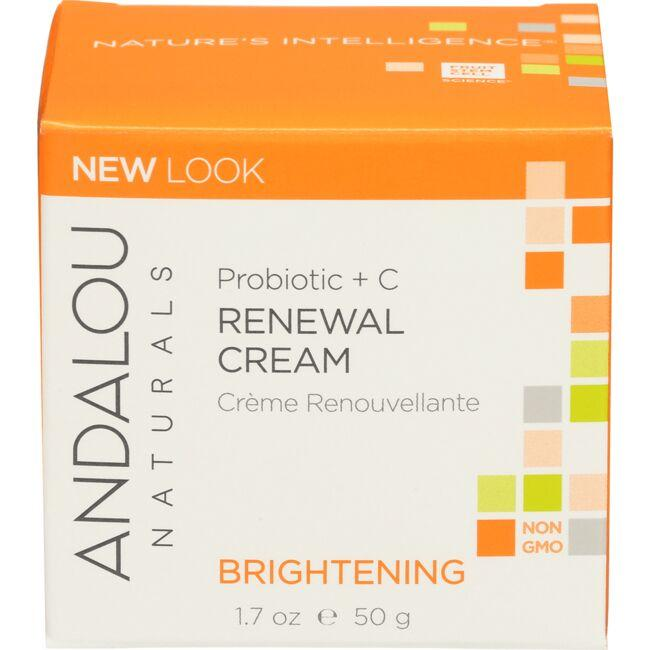 Andalou NaturalsBrightening Probiotic + C Renewal Cream
