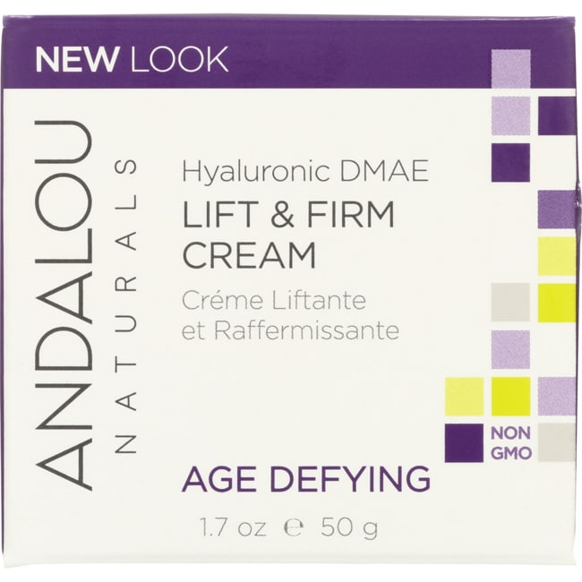 Andalou NaturalsHyaluronic DMAE Lift & Firm Cream