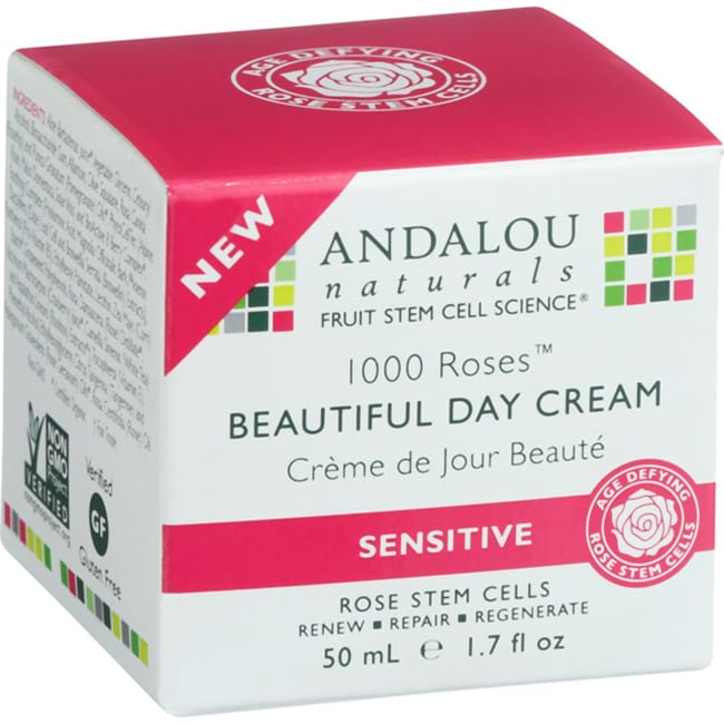 Andalou Naturals1000 Roses Beautiful Day Cream