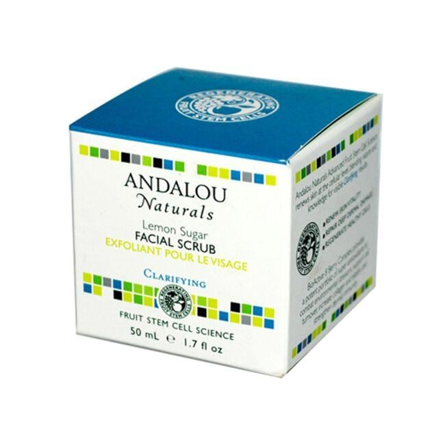 Andalou NaturalsLemon Sugar Facial Scrub