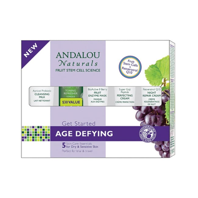 Andalou NaturalsGet Started Age Defying Kit