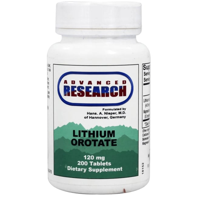 Advanced Research/Nutrient CarriersLithium Orotate