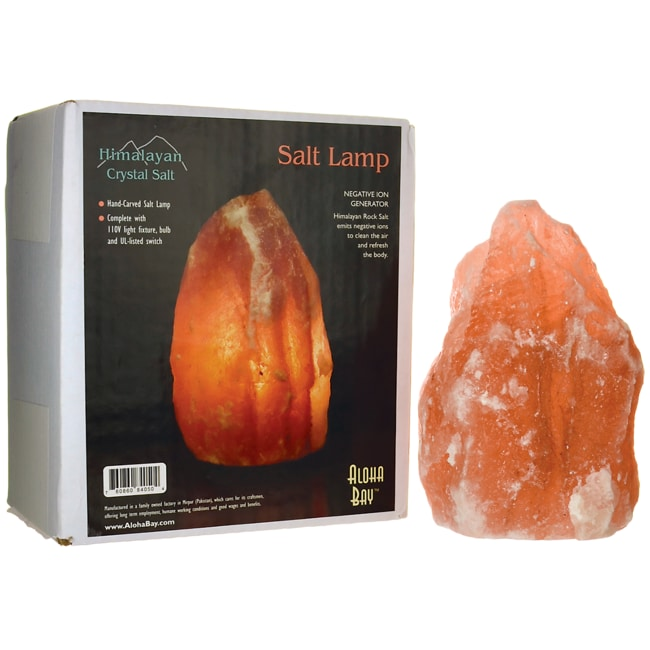 aloha bay himalayan crystal salt lamp 1 unit swanson. Black Bedroom Furniture Sets. Home Design Ideas