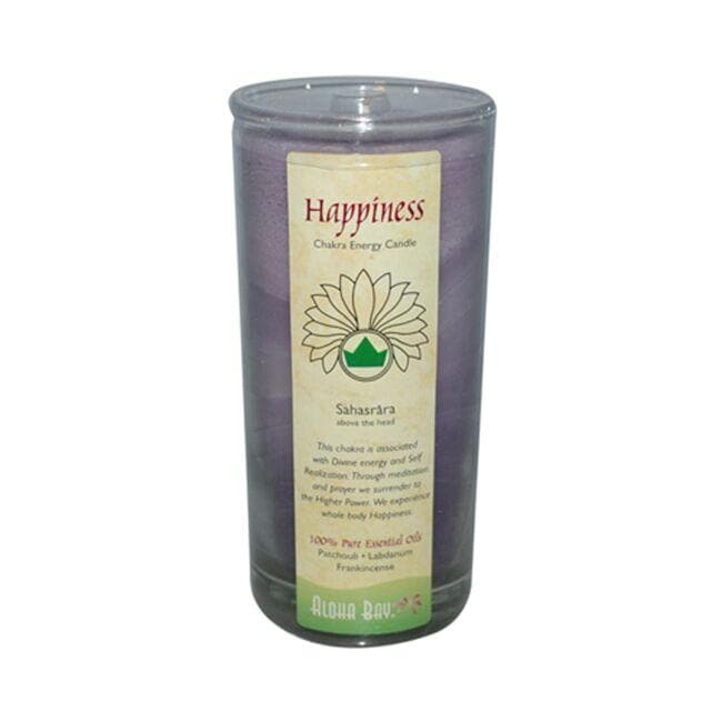 Aloha Bay Chakra Energy Jar Candle - Happiness