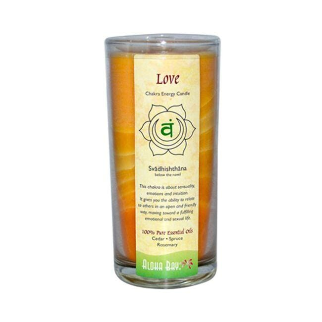 Aloha Bay Chakra Energy Jar Candle - Love