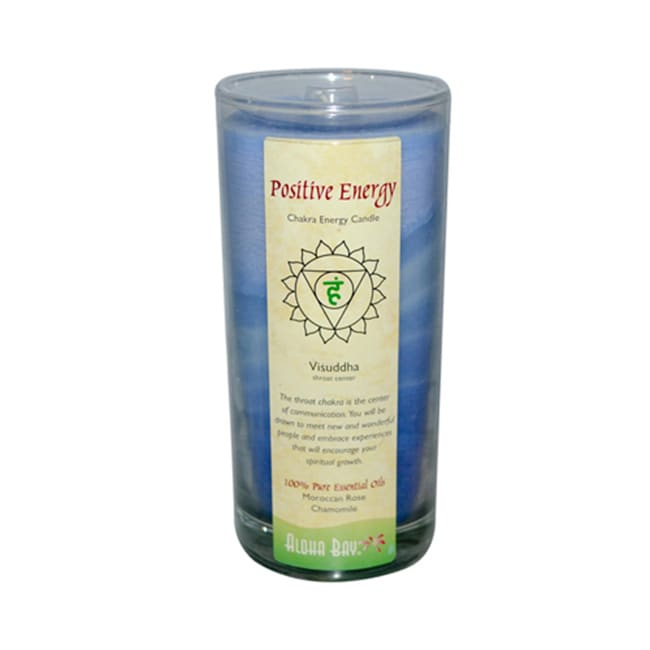 Aloha BayPositive Energy Chakra Energy Jar Candle