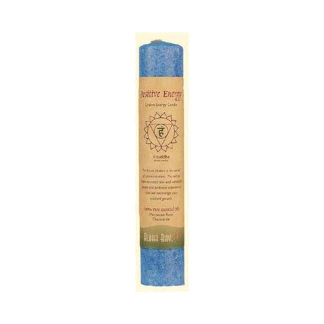 Aloha BayChakra Energy Pillar Candle 8