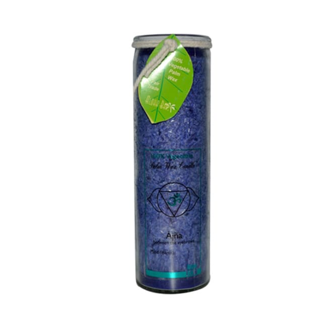 Aloha BayUnscented Chakra Jar Candle - Indigo