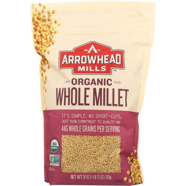 Arrowhead Mills Organic Whole Millet
