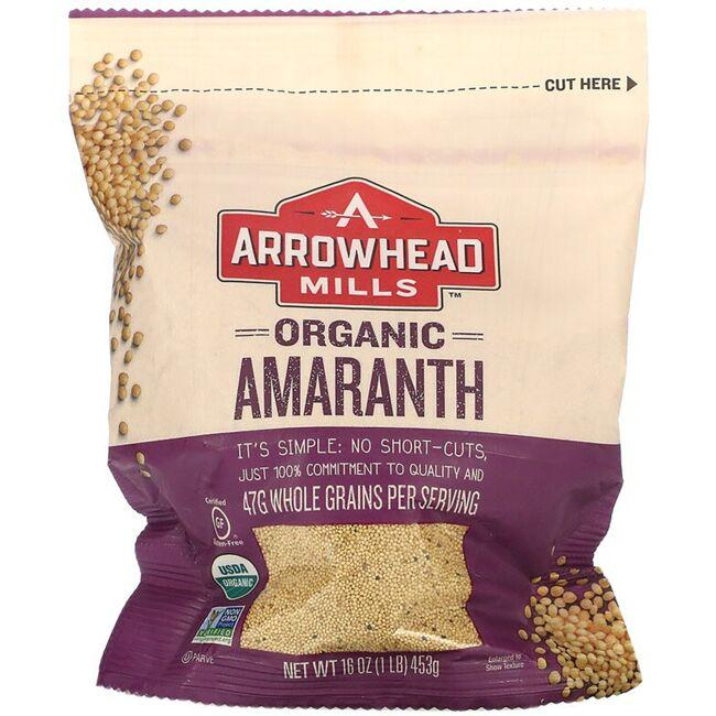 Arrowhead MillsOrganic Whole Grain Amaranth