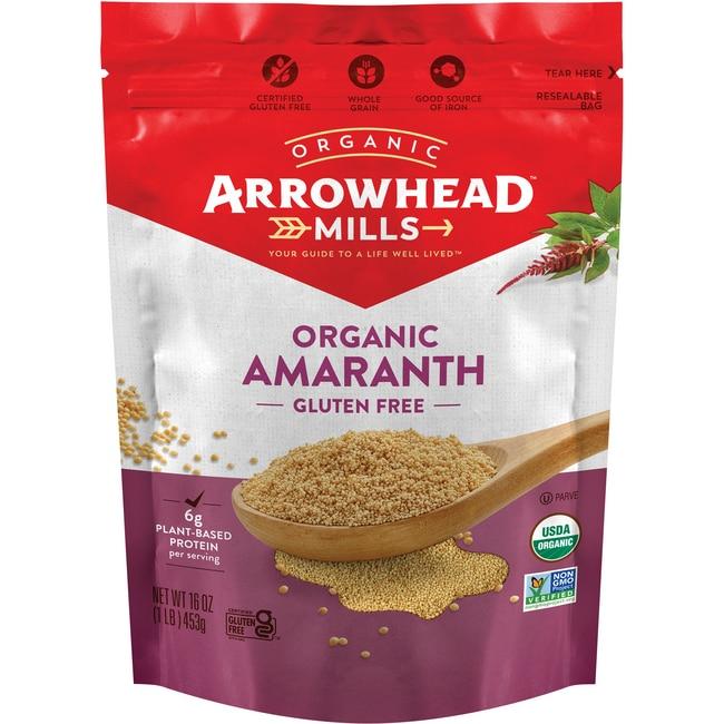 Arrowhead Mills Organic Whole Grain Amaranth