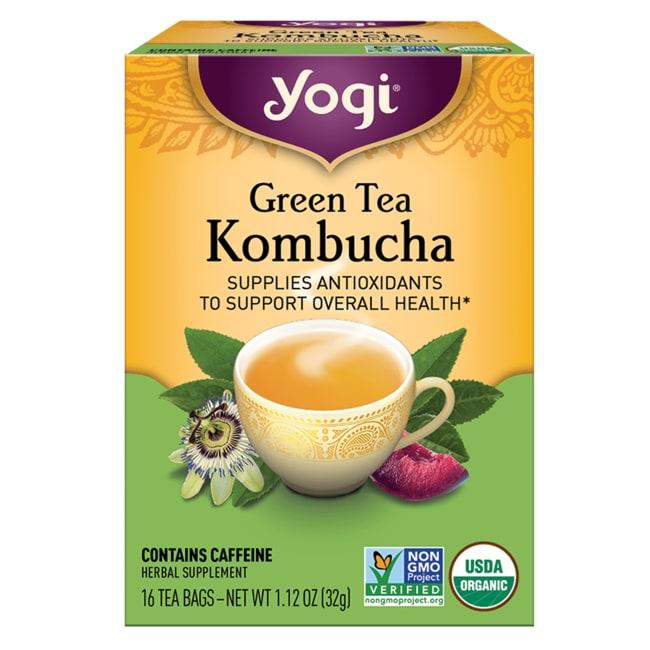 Yogi Tea Green Tea Kombucha