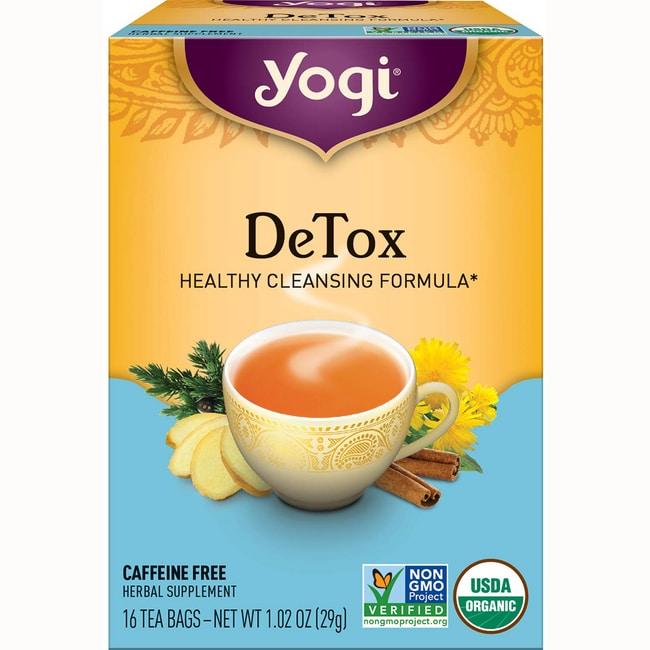 Liver detox tea yogi