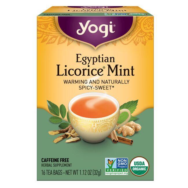Yogi TeaEgyptian Licorice Mint