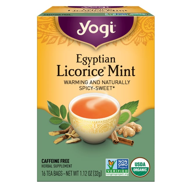Yogi TeaEgyptian Licorice Mint