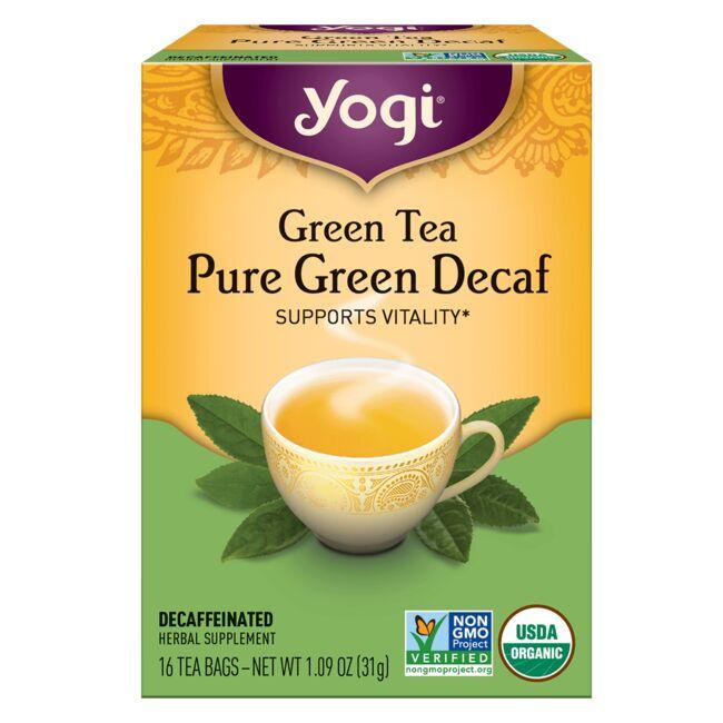 Yogi TeaGreen Tea Pure Green Decaf