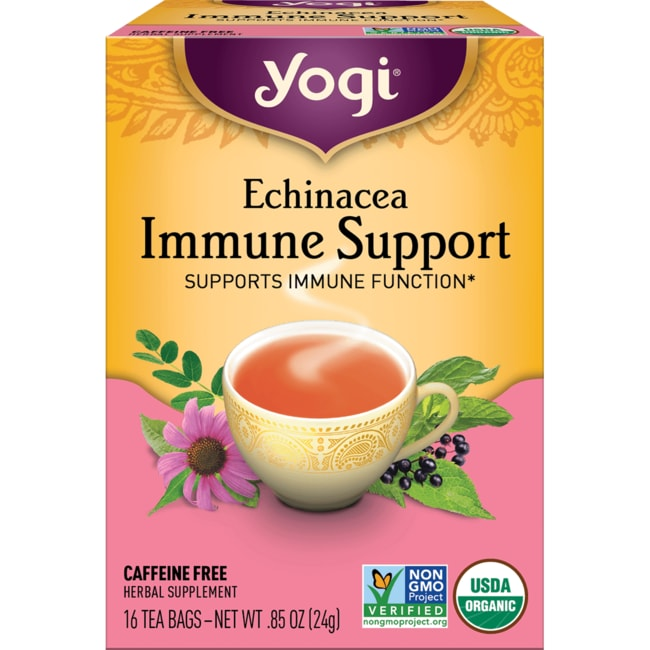 Yogi Tea Echinacea Immune Support