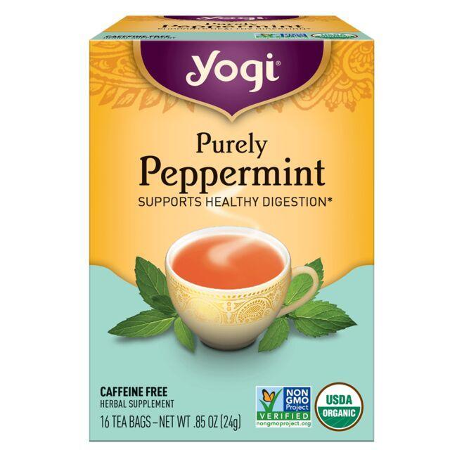 Yogi TeaPurely Peppermint